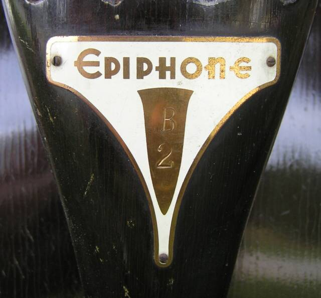 epiphone serial number on neck plate
